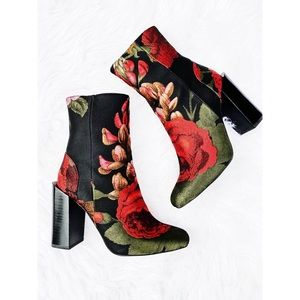 Jeffrey Campbell • Stratford Floral Boots 7